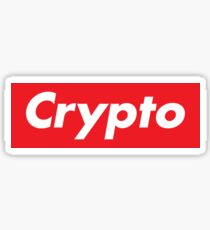Crypto Supreme Sticker