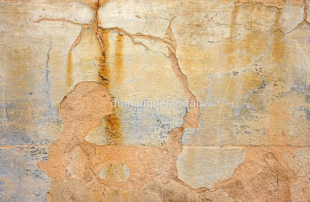 Spanish wall by dominiquelandau