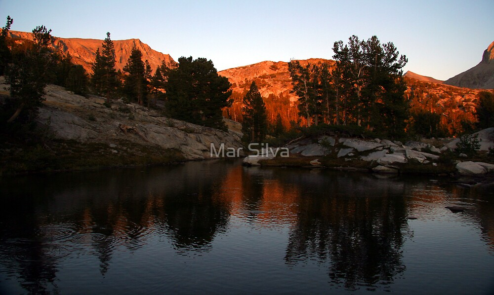 Sunset in the Sierras by Mar Silva
