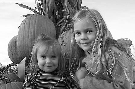 pumpkin patch sisters by Fran Sorenson