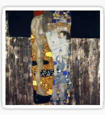 Klimt, The Three Ages of Woman Sticker