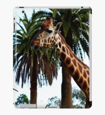 Funny Giraffe Poking Out Her Tongue, iPad Case/Skin