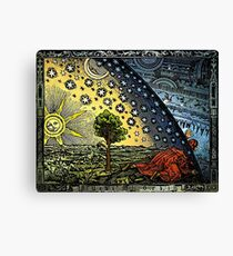 Flammarion engraving Canvas Print