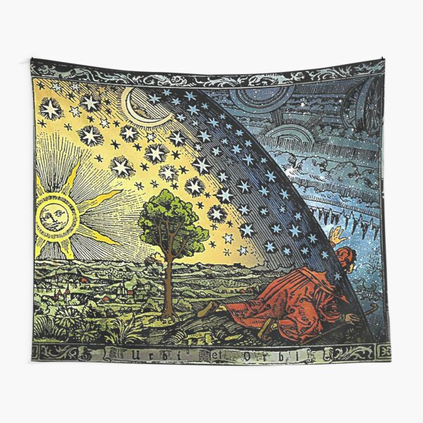 Flammarion engraving Tapestry