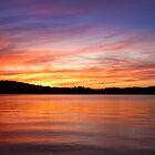 Sunset on Lake Lanier by Evelyn Laeschke