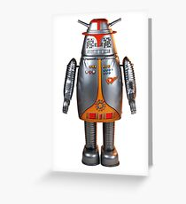 Captain Ultra - Japanese Robot Greeting Card