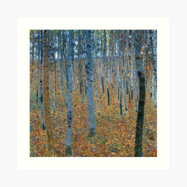 Gustav Klimt Beech Grove I 1902 Art Print