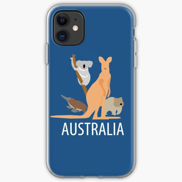 australia iPhone Soft Case