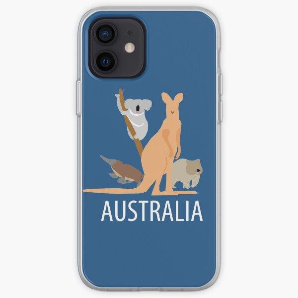 australia iPhone Soft Case