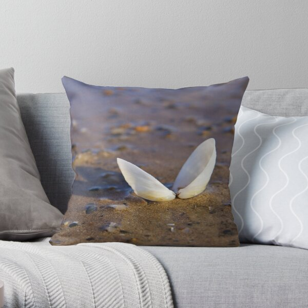 Cockle Shell  in Evening light at Fahan Throw Pillow