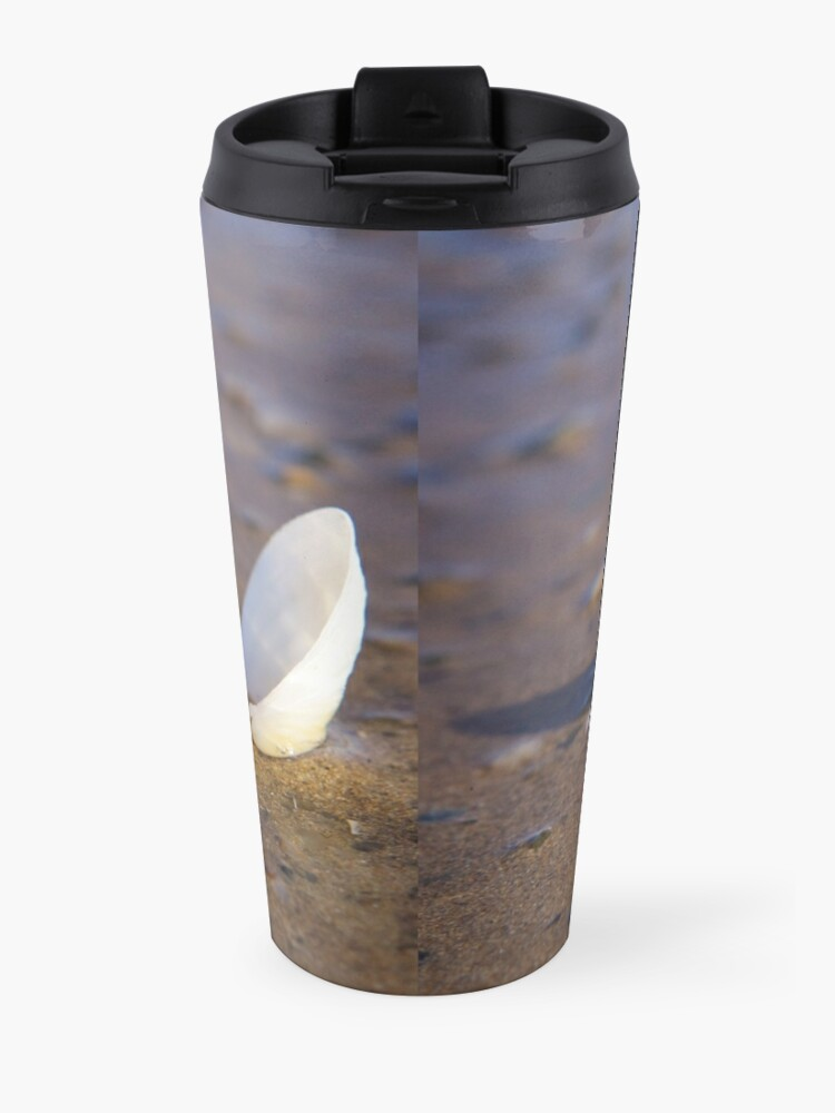 Alternate view of Cockle Shell  in Evening light at Fahan Travel Mug