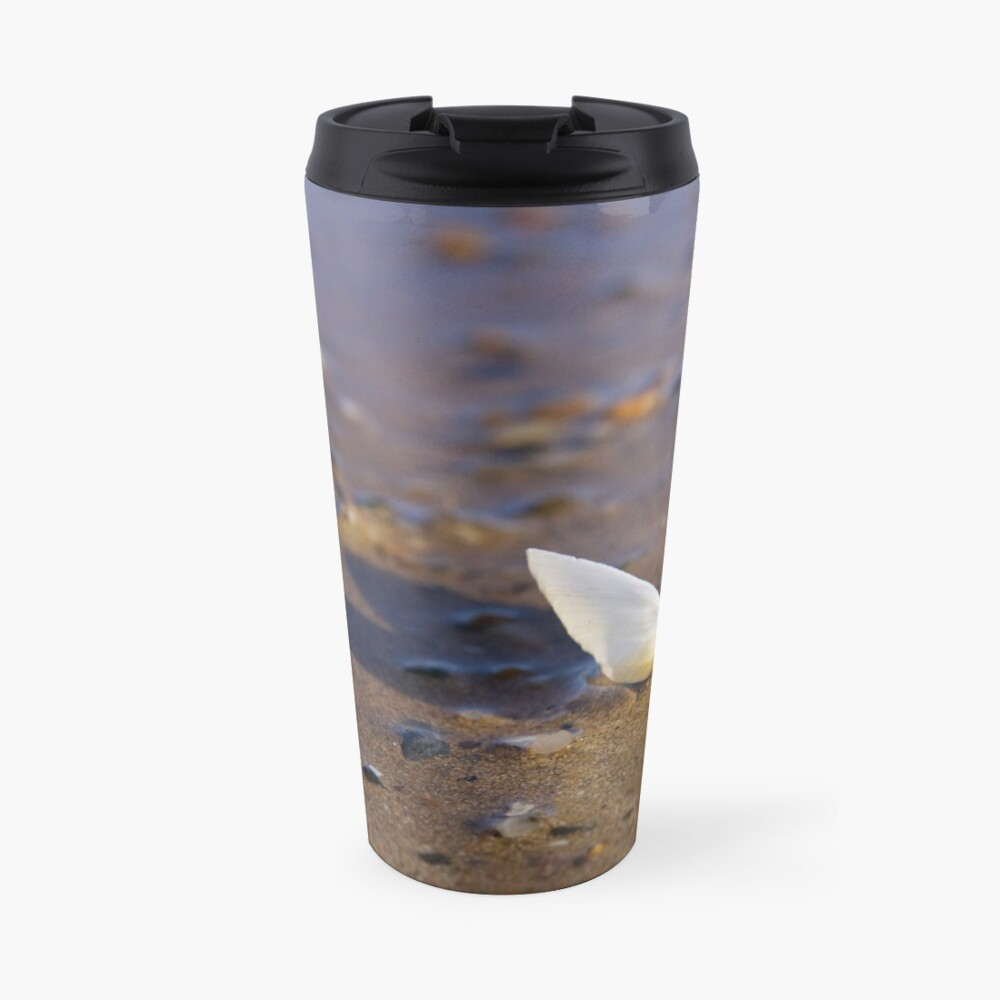 Cockle Shell  in Evening light at Fahan Travel Mug
