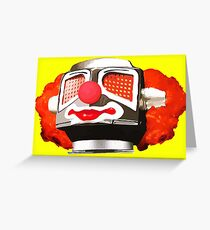 Clownbot Greeting Card