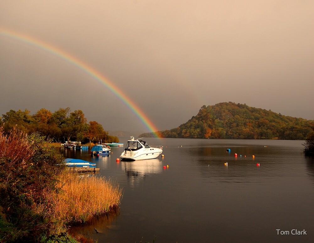 Rainbow over Loch Lomond by Tom Clark