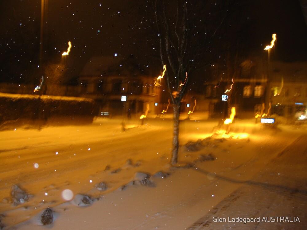 Burning Snow by Glen Ladegaard AUSTRALIA