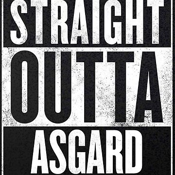 Straight Outta Asgard by natdesign