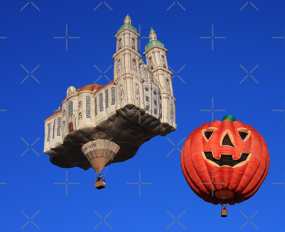 The Pumpkin and the Castle by CarolM