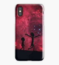 Rick and morty stars iPhone Case/Skin