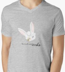 16. Alice Quote Men's V-Neck T-Shirt