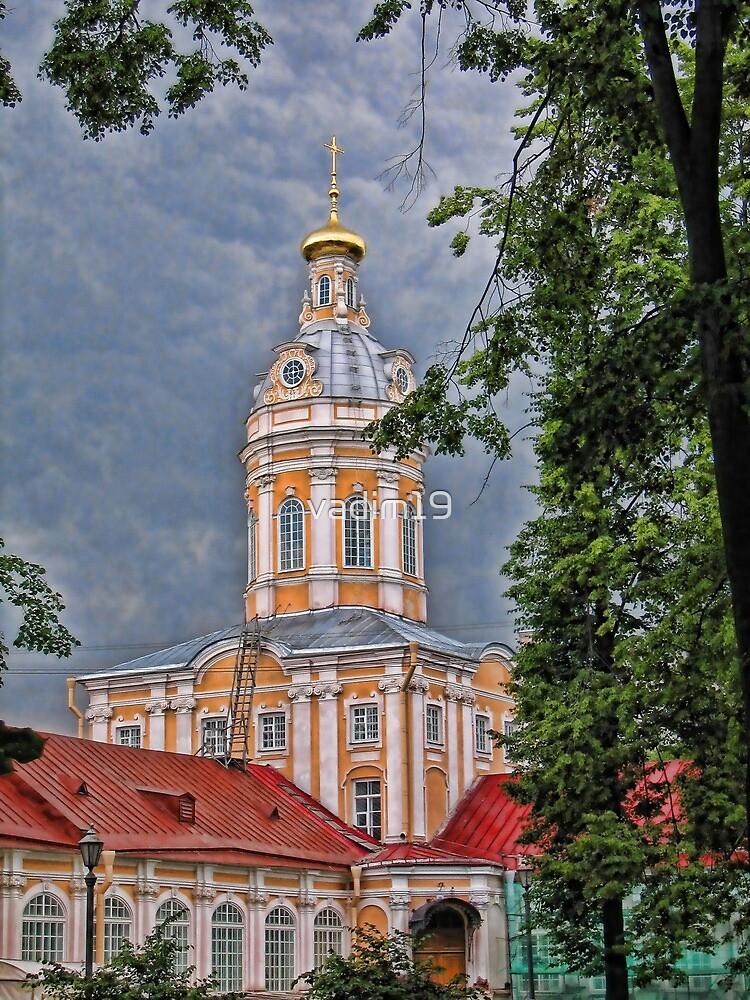 Alexander Nevsky Lavra. Saint Petersburg, Russia by vadim19