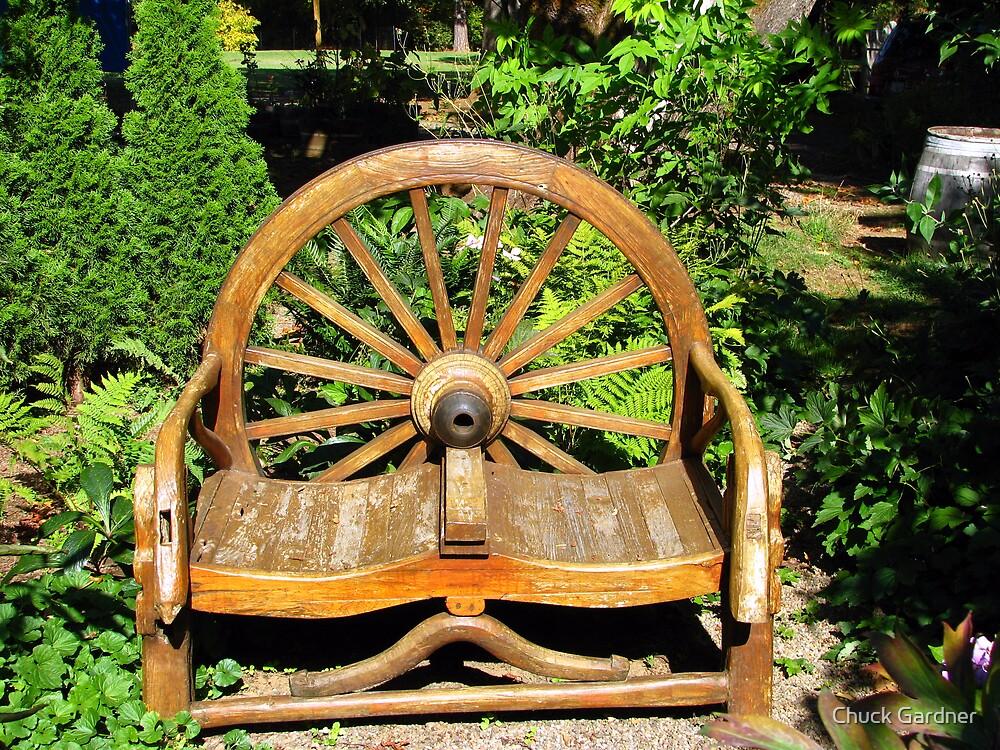 Garden Love Seat  by Chuck Gardner