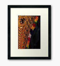 Bejewelled Elephant Framed Print
