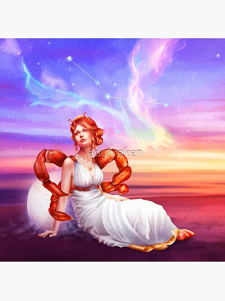 Cancer OC - 12 Zodiac Ladies by ladykraken