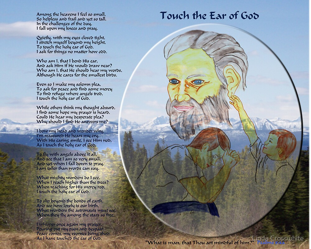 Touch the Ear of God mountians by Linda Crosswhite