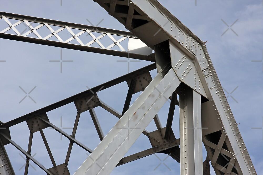 Train Trestle Bridge Abstract by CarolM