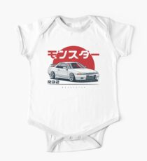 Monster. Skyline R32 GTR Short Sleeve Baby One-Piece