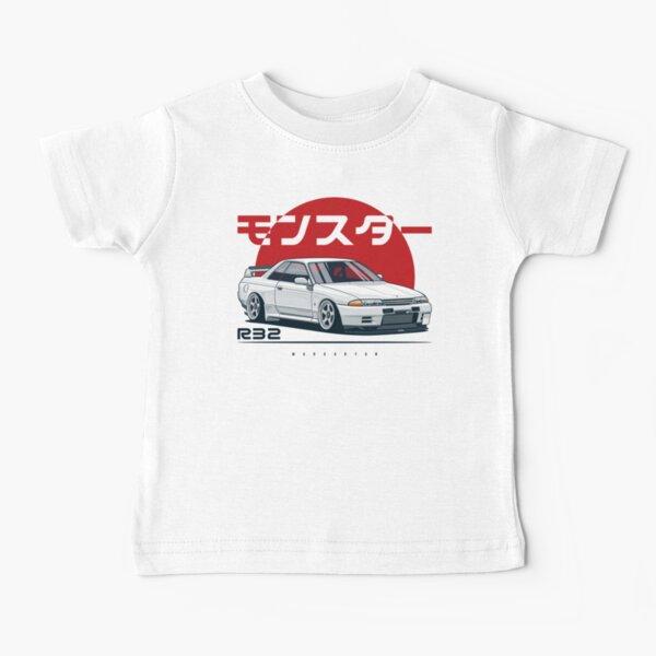 Monster. Skyline R32 GTR Baby T-Shirt