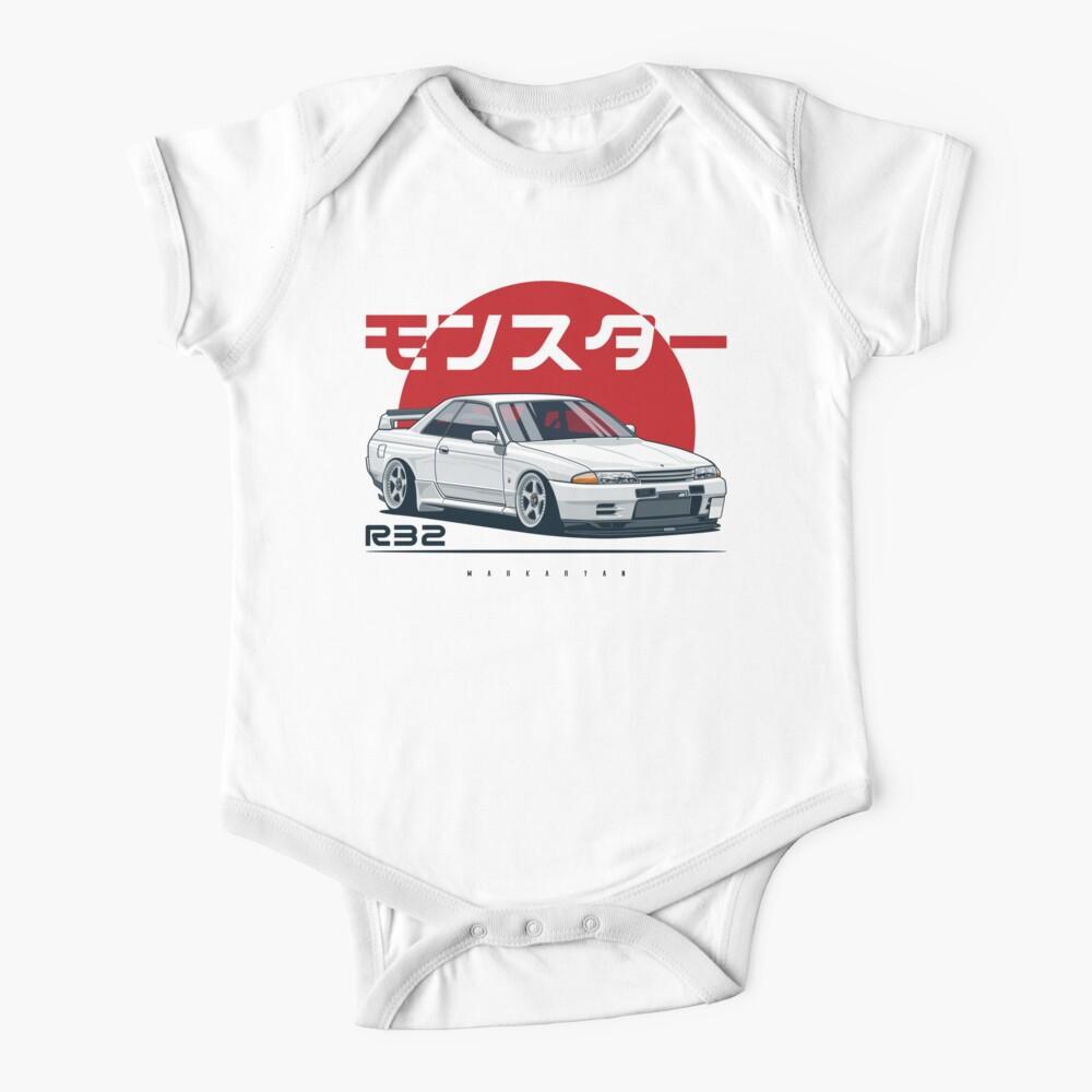 Monster. Skyline R32 GTR Baby One-Piece