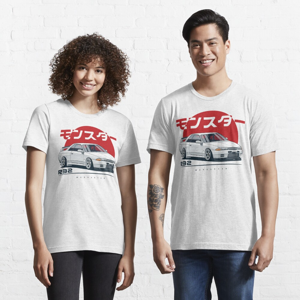 Monster. Skyline R32 GTR Essential T-Shirt