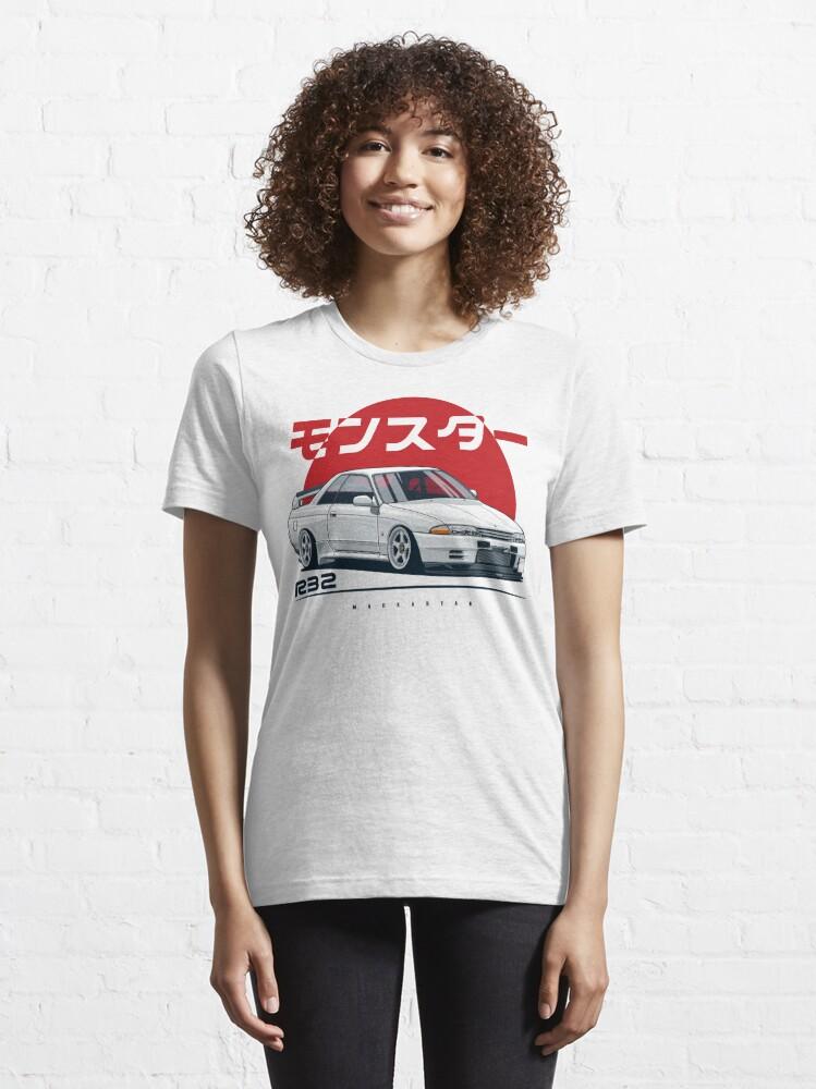 Alternate view of Monster. Skyline R32 GTR Essential T-Shirt