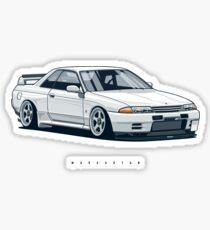 Monster. Skyline R32 GTR Sticker