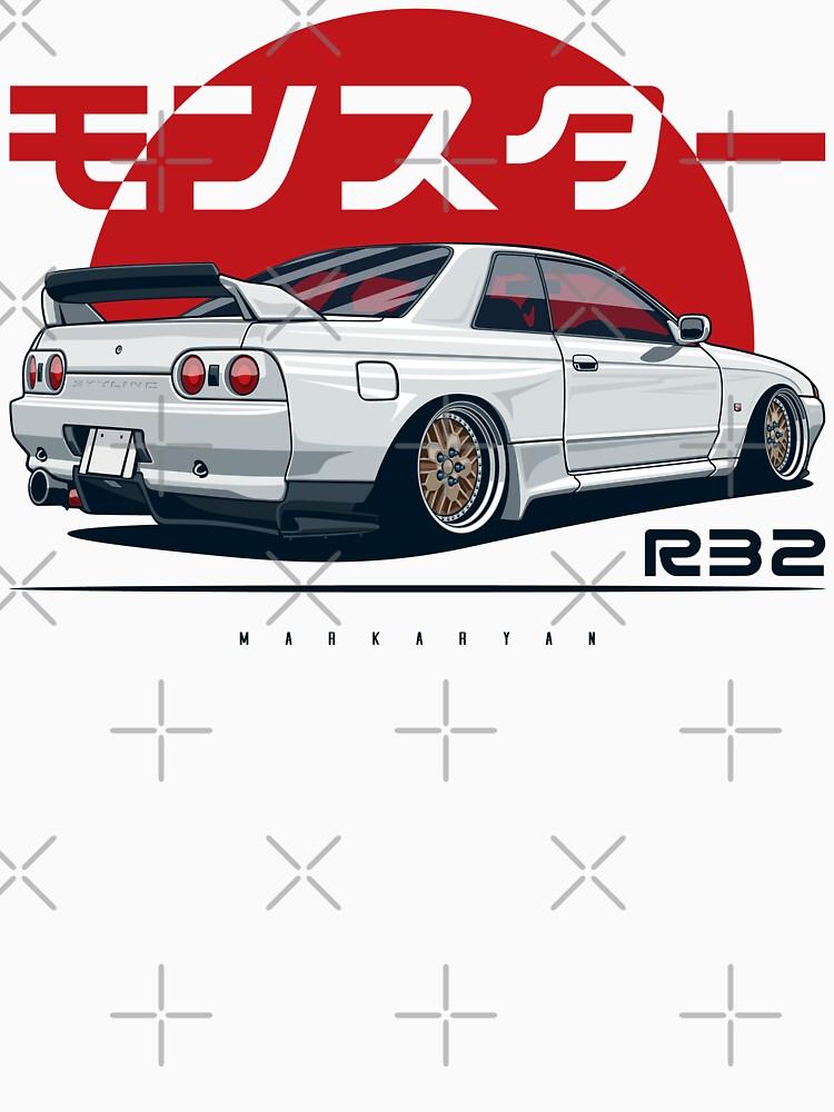 Monster. Skyline R32 GTR by OlegMarkaryan