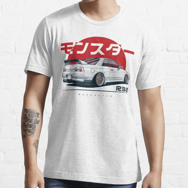 Monstre. Skyline R32 GTR T-shirt essentiel
