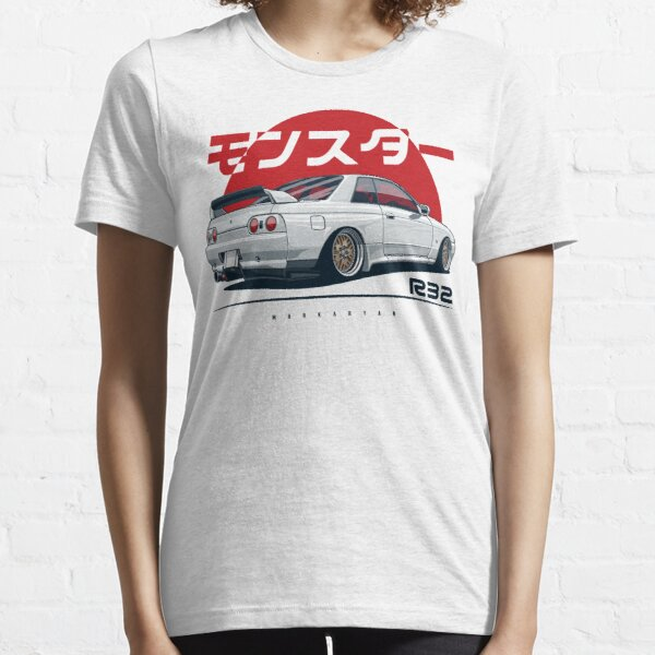 Monster. Skyline R32 GTR Essential T-Shirt