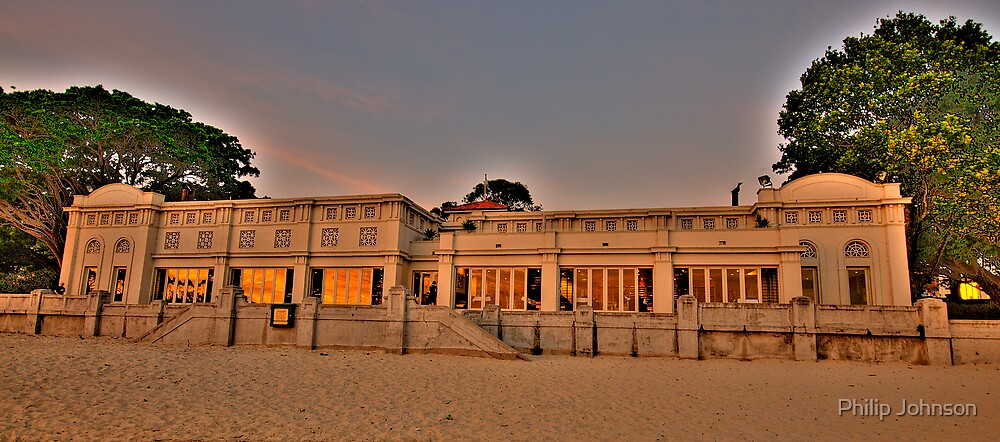 Bathers Pavillion - Balmoral - The HDR Series by Philip Johnson