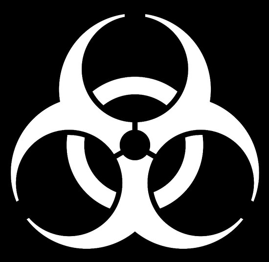 Bio Hazard Biohazard Danger Hazard Symbol Biological Hazard