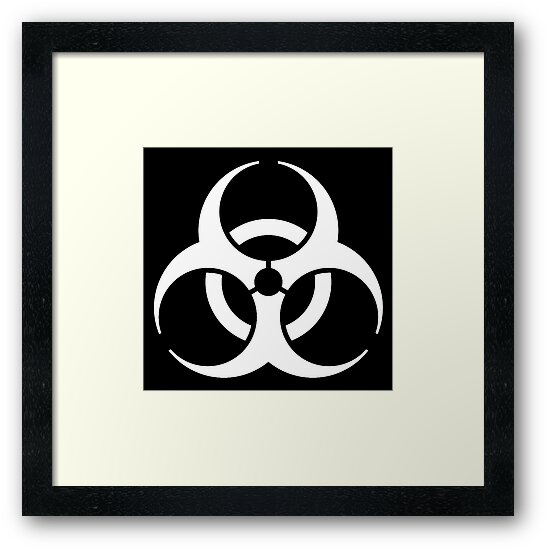 Bio Hazard Biohazard Danger Hazard Symbol Biological Hazard