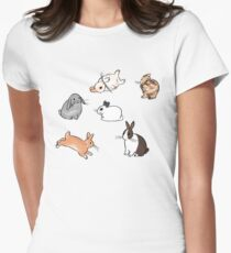 Bunnies Women's Fitted T-Shirt