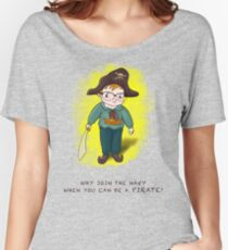 Kid Wannabe Pirate Women's Relaxed Fit T-Shirt