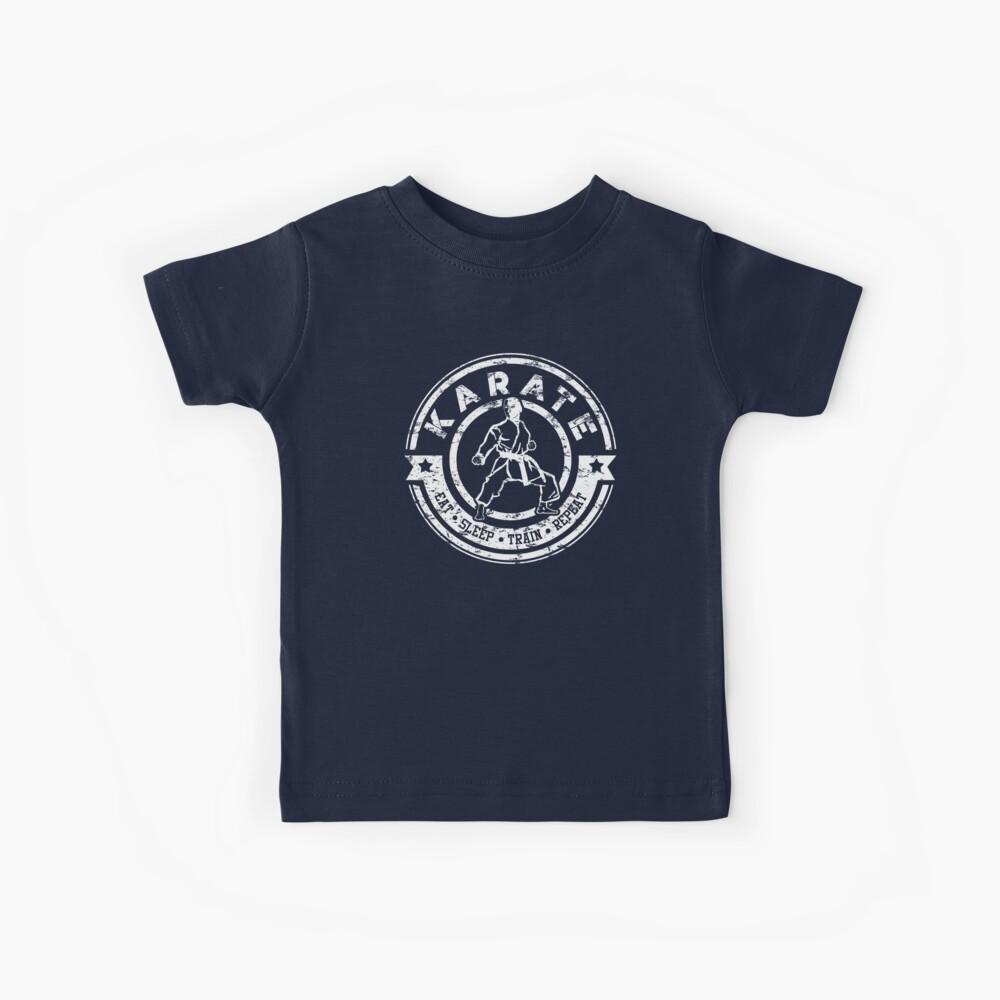 Karate Training TShirt für Männer und Jungen Kinder T-Shirt