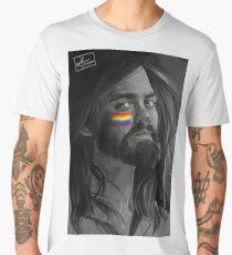 "Paul ""Jesus"" Rovia - THE WALKING DEAD (PRIDE, RAINBOW) Men's Premium T-Shirt"