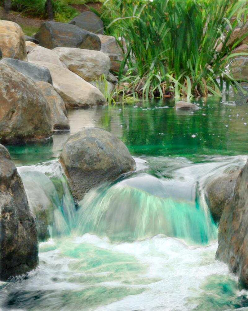 Small Falls by Francesa