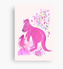 Little Roo Canvas Print