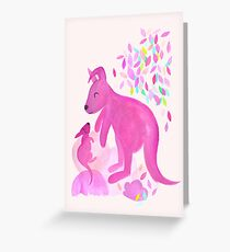 Little Roo Greeting Card