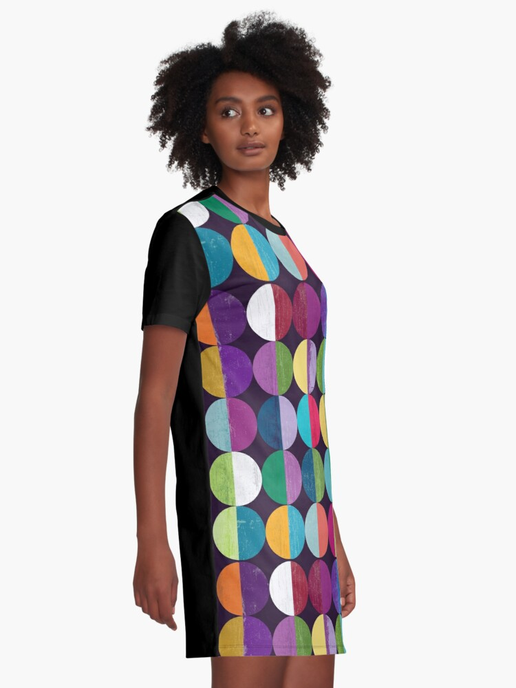 Alternate view of Moon Graphic T-Shirt Dress