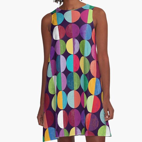 Moon A-Line Dress